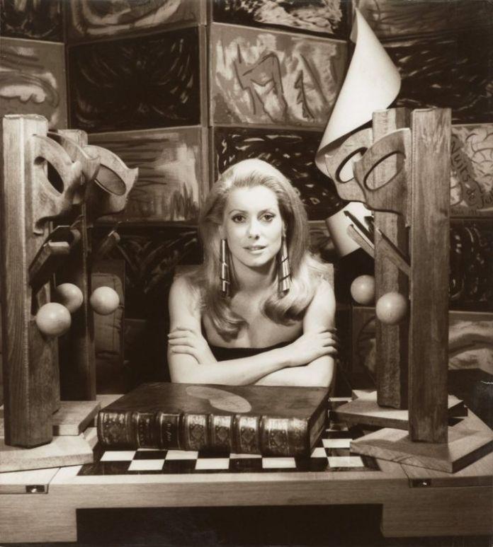 Man Ray - Catherine Deneuve, 1968