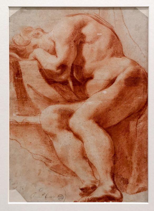 Bartolomeo Schedoni (Attribué à) - Académie - homme nu, 2e moitié du 16e siècle - Art & Anatomie - Musée Fabre