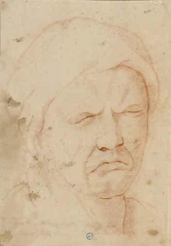 D'après Charles Le Brun, Le pleurer, XVIIIe siècle
