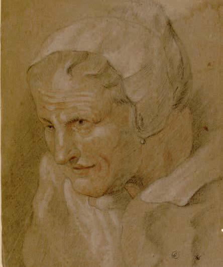 D'après Pieter Paul Rubens, Portrait de vieille femme, XVIIe siècle