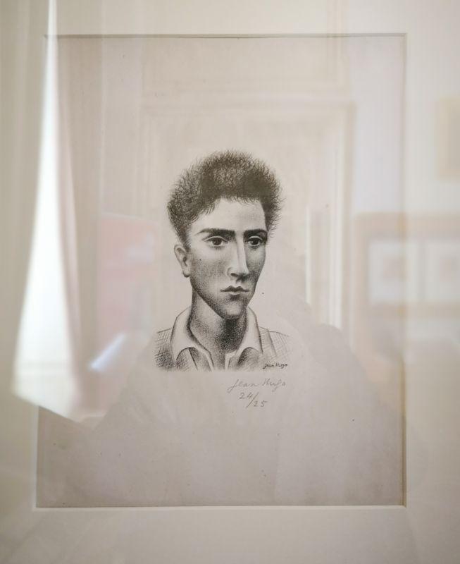 Jean Hugo, Portrait de Jean Cocteau, vers 1930 - Art & Anatomie - Musée Atger