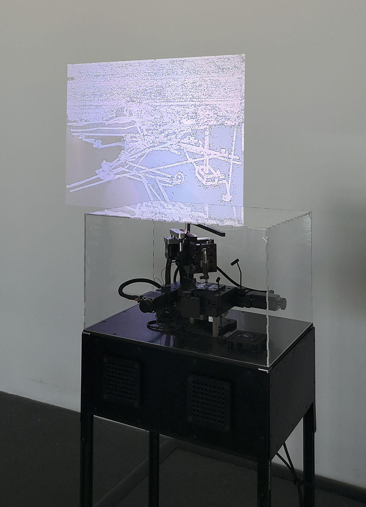 Julien Maire – Composite, 2018-2020 - Signal Espace(s) réciproque(s) à la Friche de La Belle de Mai