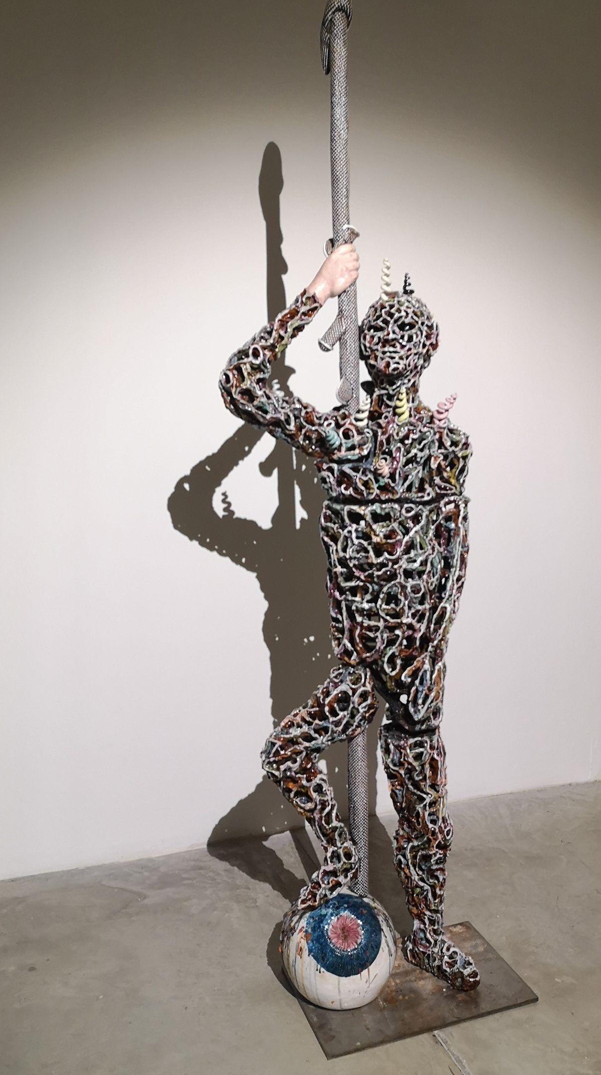 Michel Gouéry - David et l'œil de Goliath, 2012 - Street Trash - Friche La Belle de Mai