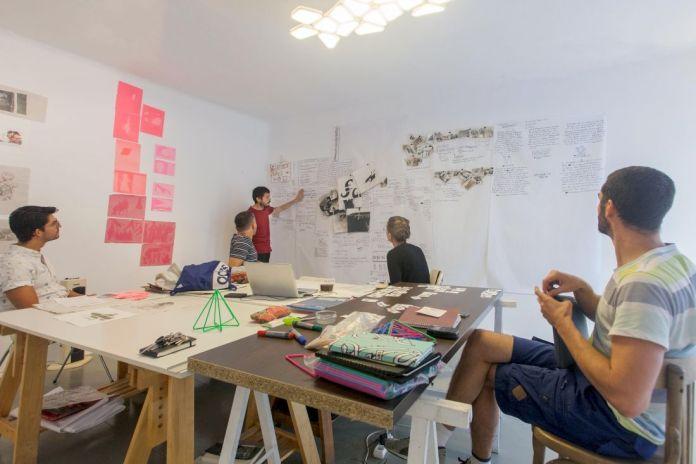 Dos Mares - Séance de travail avec l'équipe curatoriale, Septembre 2019