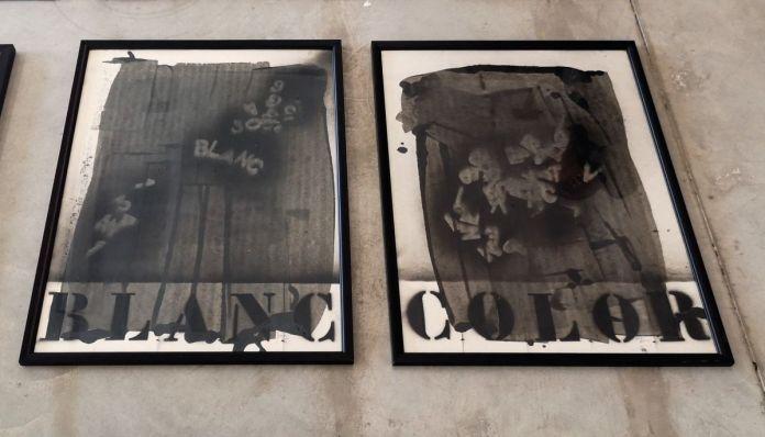 Julien Blaine - Blanc - Color - Le Grand Dépotoir à la Friche Le Belle de Mai