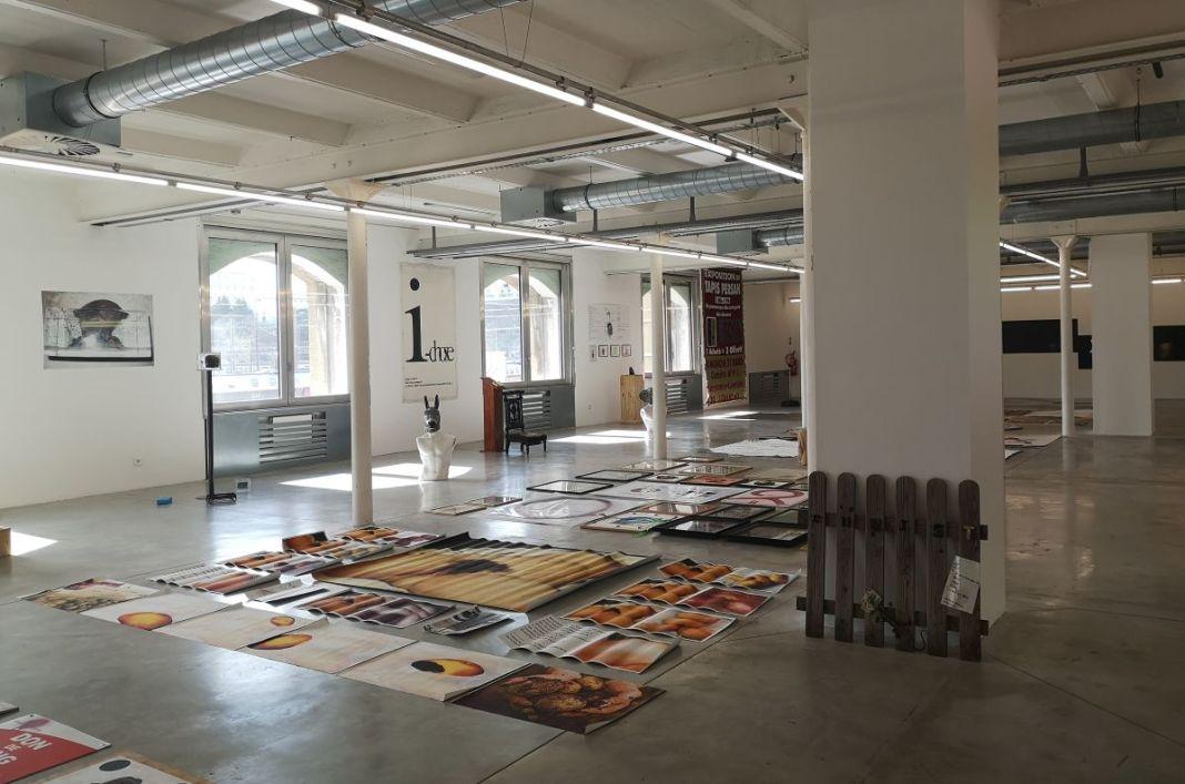Julien Blaine - Le Grand Dépotoir à la Friche Le Belle de Mai - Vue de l'exposition