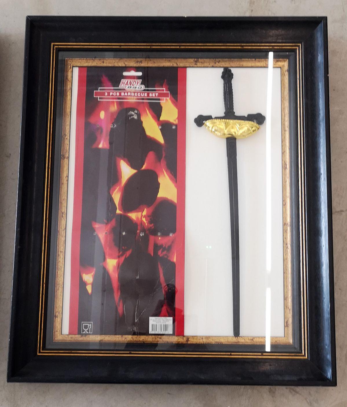 Julien Blaine - une épée de Zorro à deux euros - Le Grand Dépotoir à la Friche Le Belle de Mai