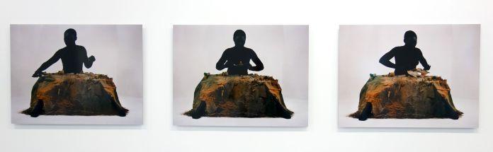 Otobong Nkanga - Sans-titre (Alterscape I, II et III), 2005 - La mesure du monde au MRAC – Sérignan