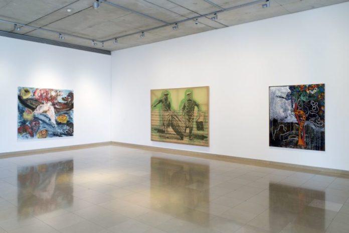 Accrochage 2020 de la collection à Carré d'Art - Salle 3- Martin Disler, Sigmar Polke Photo (c) C. Eymenier