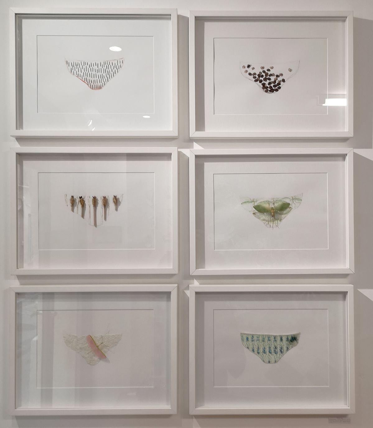 Cécile Hug - Entres jambe, 2014 - NO PROHIBIDA à la N5 galerie - Vue de l'exposition - Photo En revenant de l'expo !