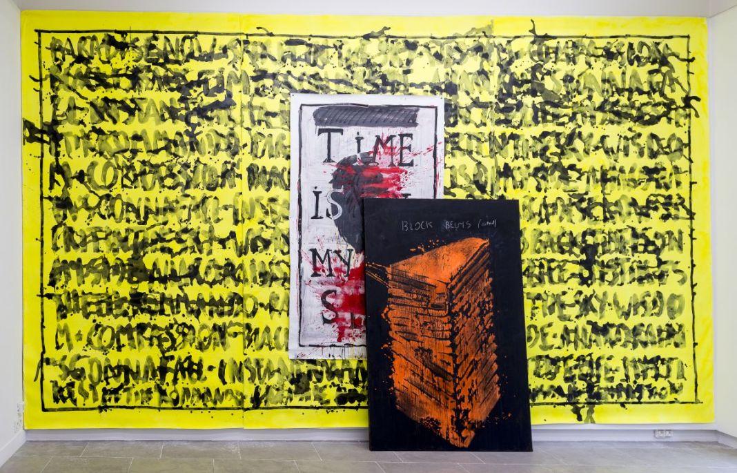 Georges Autard - Installation, 2020 - La forme informe- Galerie ALMA- Vue de l'exposition Photo © David Huguenin