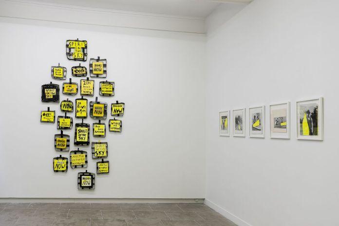 Georges Autard - - La forme informe- Galerie ALMA- Vue de l'exposition Photo © David Huguenin