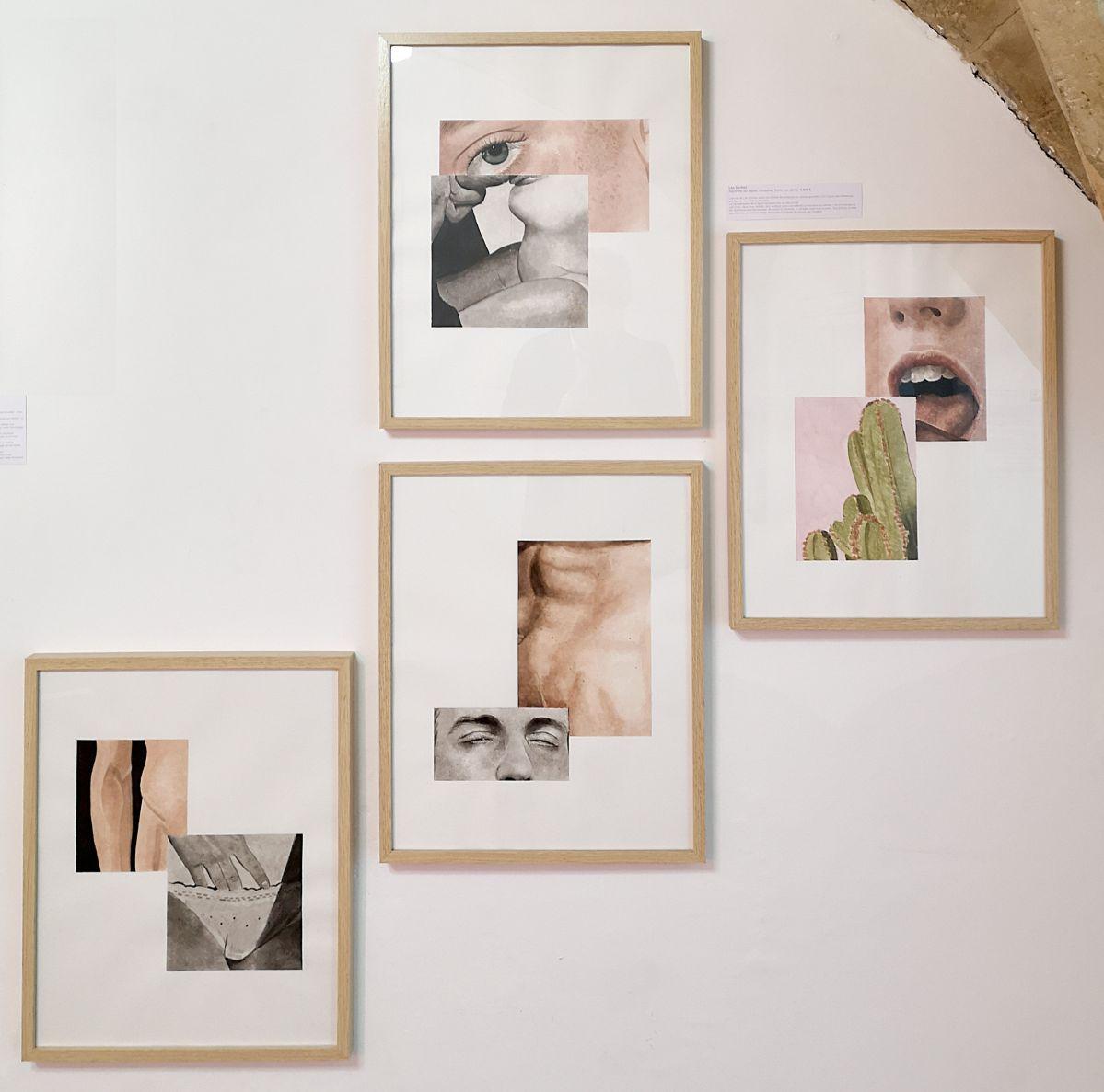 Léo Dorfner - NO PROHIBIDA à la N5 galerie - Vue de l'exposition - Photo En revenant de l'expo !
