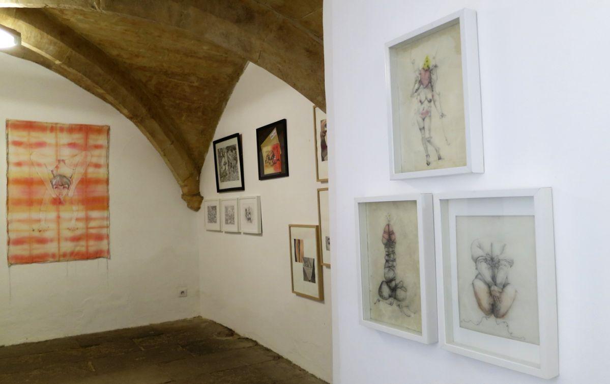 NO PROHIBIDA à la N5 galerie - Vue de l'exposition - Photo N5G