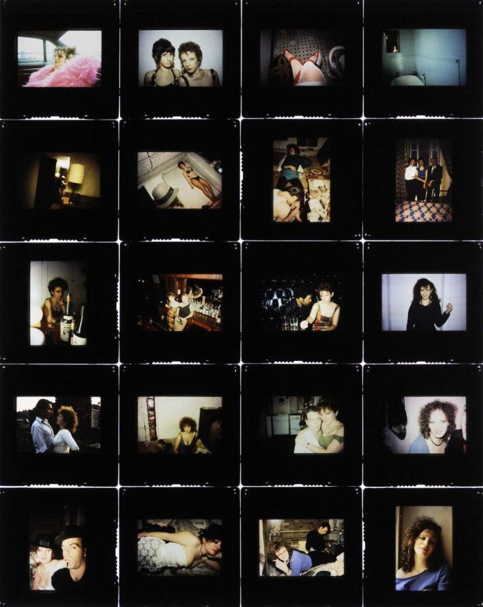 Nan Goldin, Self-portrait (All by Myself), 1995