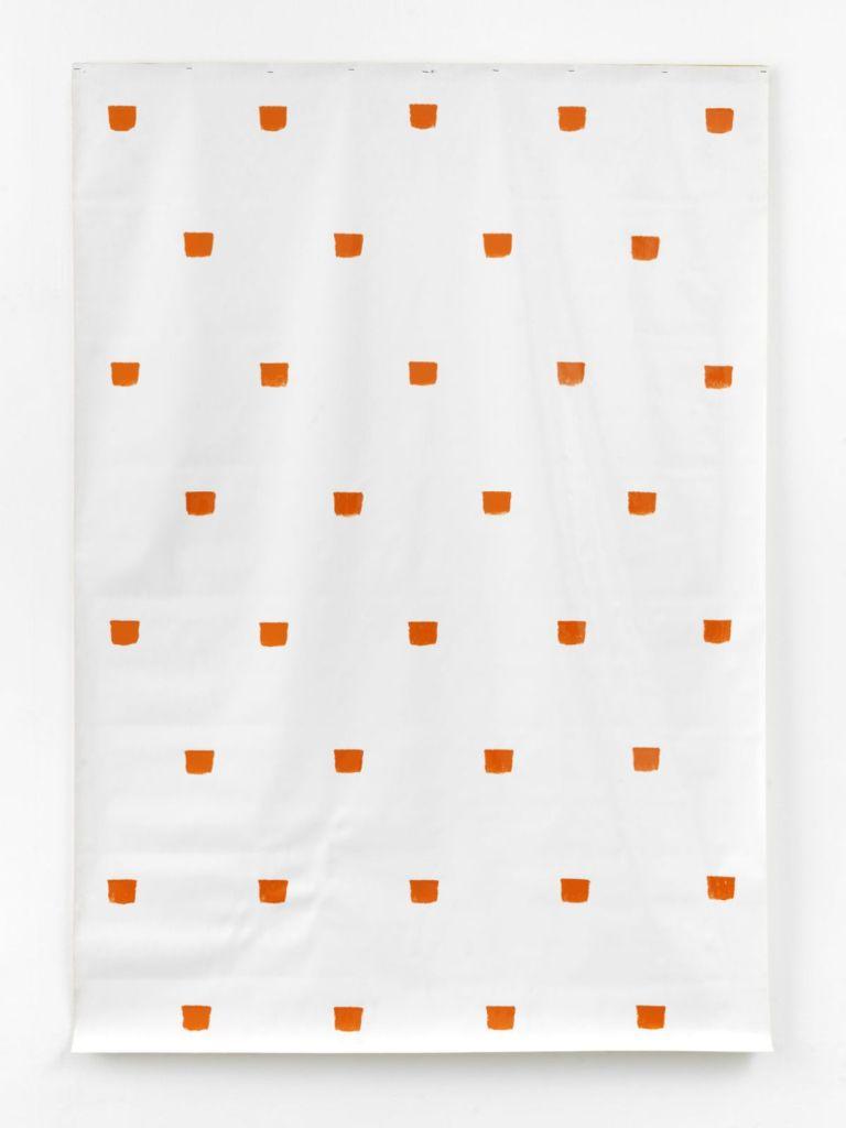 Niele Toroni, Empreintes de pinceau n°50 à intervalles réguliers (30 cm), 1983