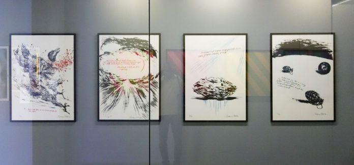 Raymond Pettibon - Sans titre, 2005 - Mrac Sérignan - Accrochage des collections 2019-2020