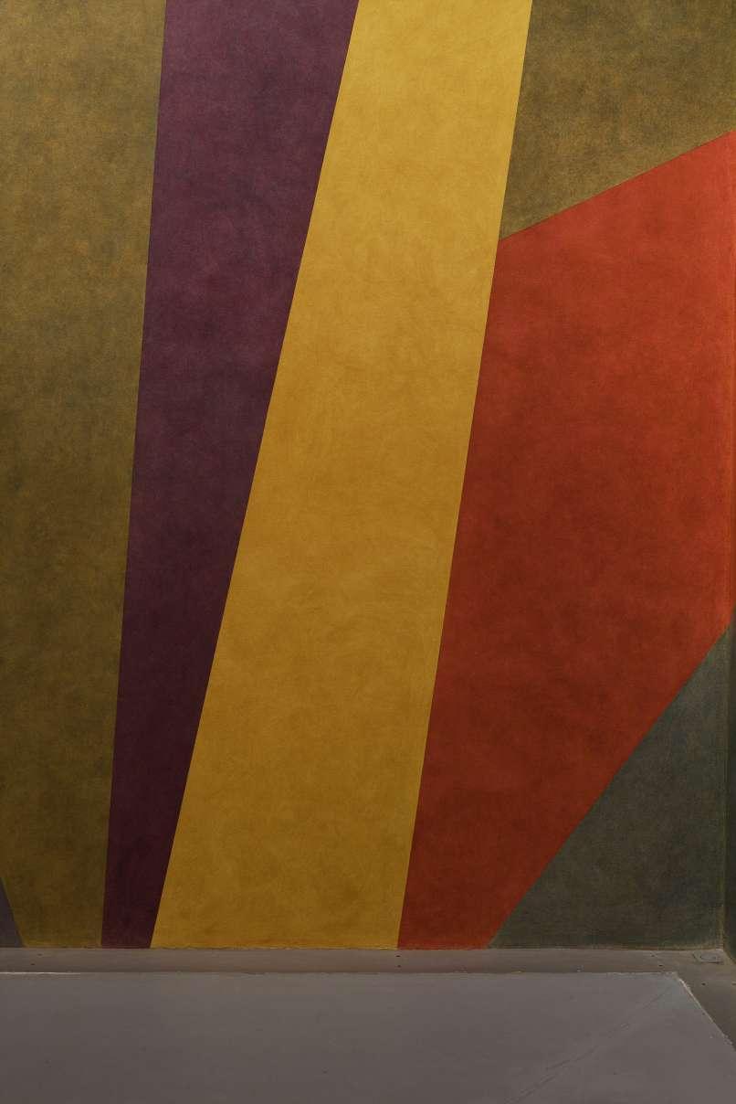 Sol LeWitt - Wall Drawing #538, 1984-1988, encre sur mur (détails)