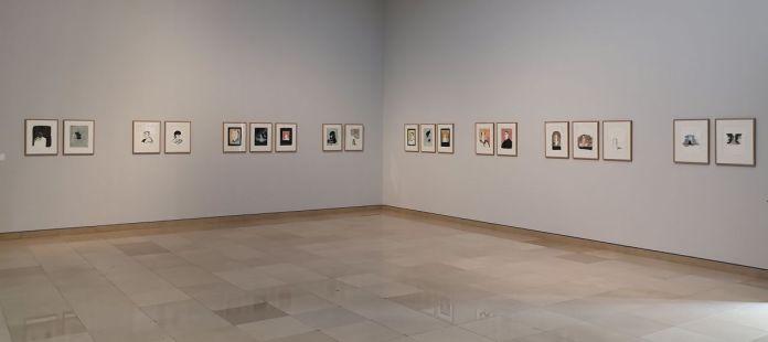 Des Visages - Le temps de l'Autre - Carré d'Art à Nîmes - Vue de l'exposition - Salle 4