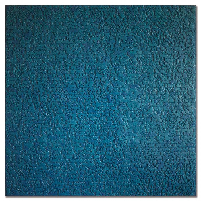 Pascale Hugonet - Stratigraphie 25, 2020 - 100 x 100cm - Cire et pigments sur CP monté sur châssis