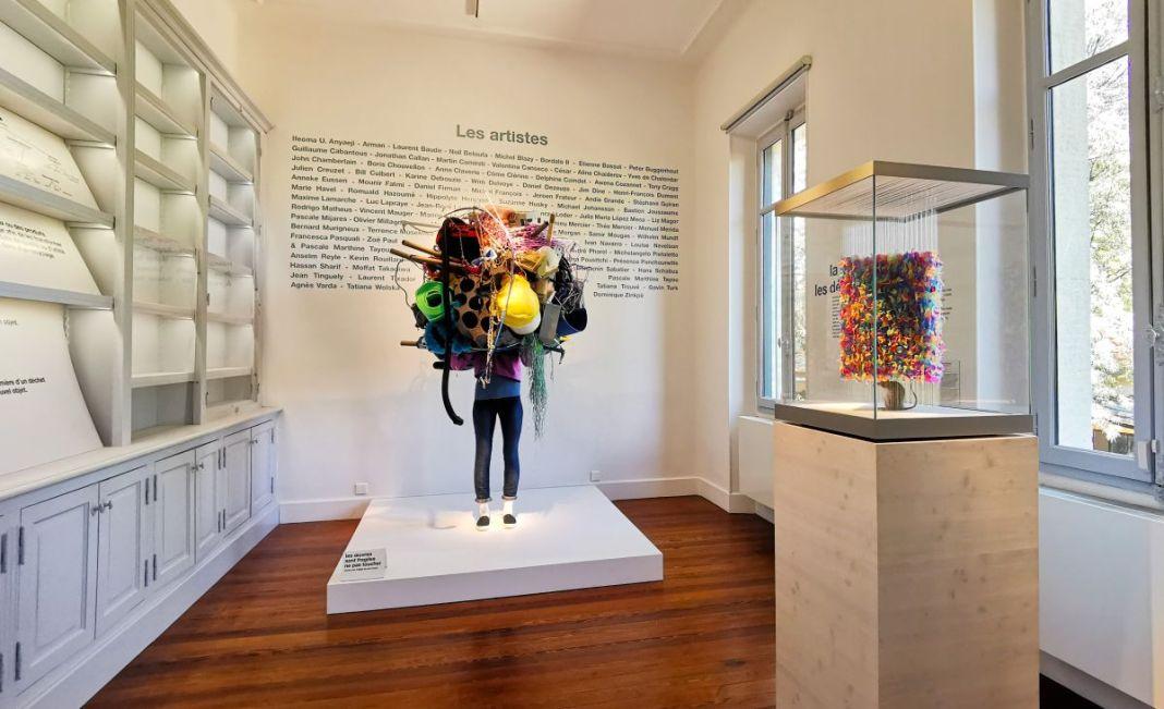 Recyclage/Surcyclage à la Villa Datris - Vue de l'exposition