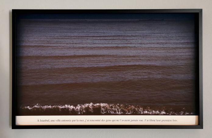 Sophie Calle - Voir la mer, 2011 - Des Visages - Le temps de l'Autre - Carré d'Art à Nîmes - Salle 3