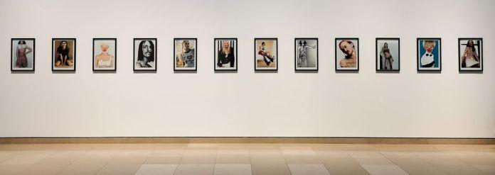 Ugo Rondinone - I don't live here anymore, 2000 - Des Visages - Le temps de l'Autre - Carré d'Art à Nîmes - Salle 5