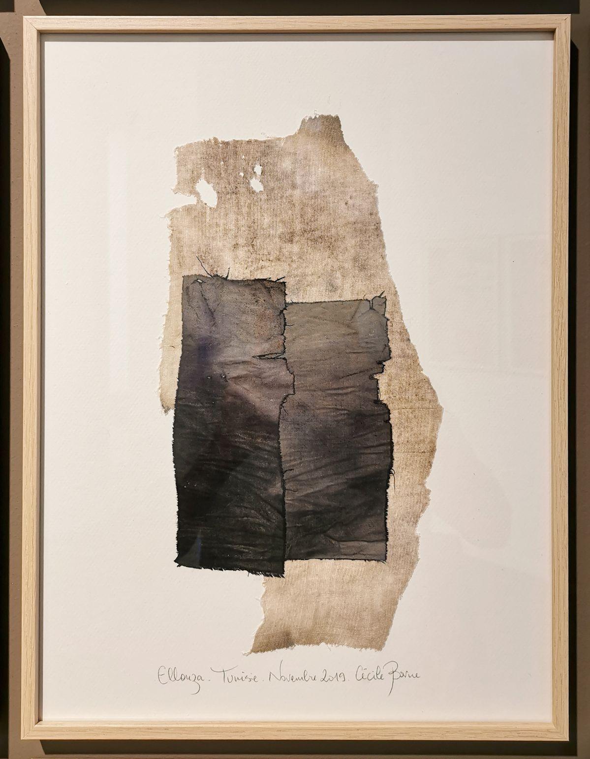 Cécile Borne - Carnets de bord (54), 2019 - 4 à 4 au Musée Paul Valery - Sète
