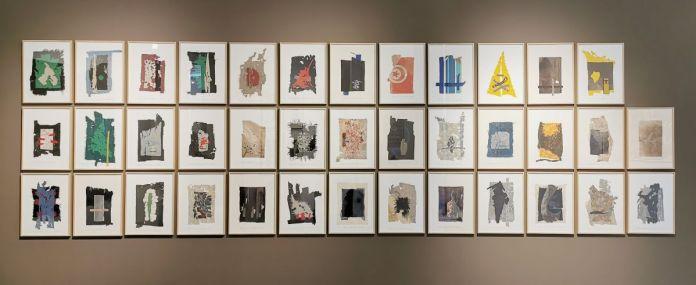 Cécile Borne - Carnets de bord (9 à 59), 2018-2020 - 4 à 4 au Musée Paul Valery - Sète