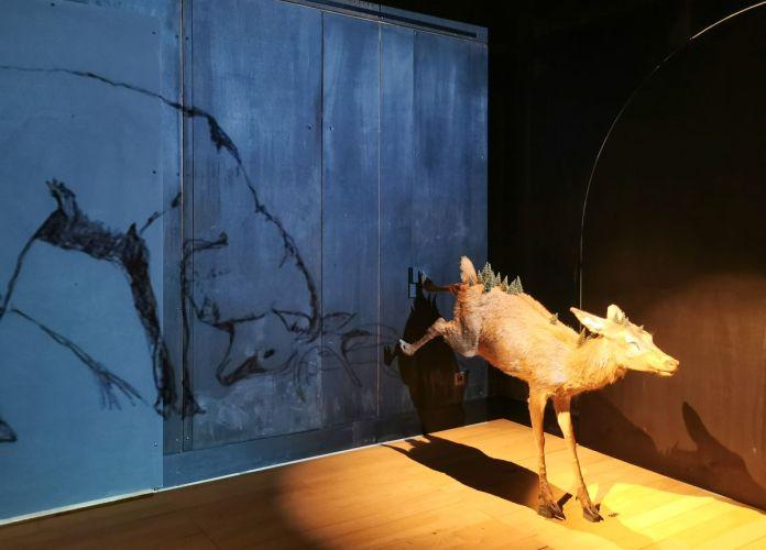 Delphine Gigoux-Martin - L'Arc est bandé, évite la flèche, 2008 - Sauvages- Maison Rouge - Musée des vallées cévenoles à St Jean du Gard