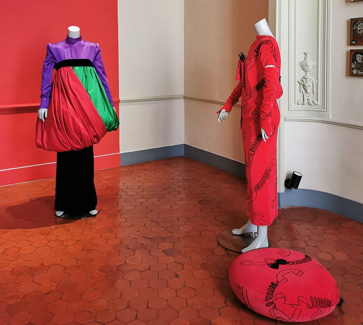 L'héritage surréaliste dans la mode au Château Borély - Chambre de LJD Borély