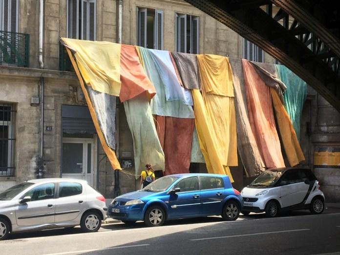 Adrien Vescovi, Thé à la menthe, installation, Marseille, mai 2018