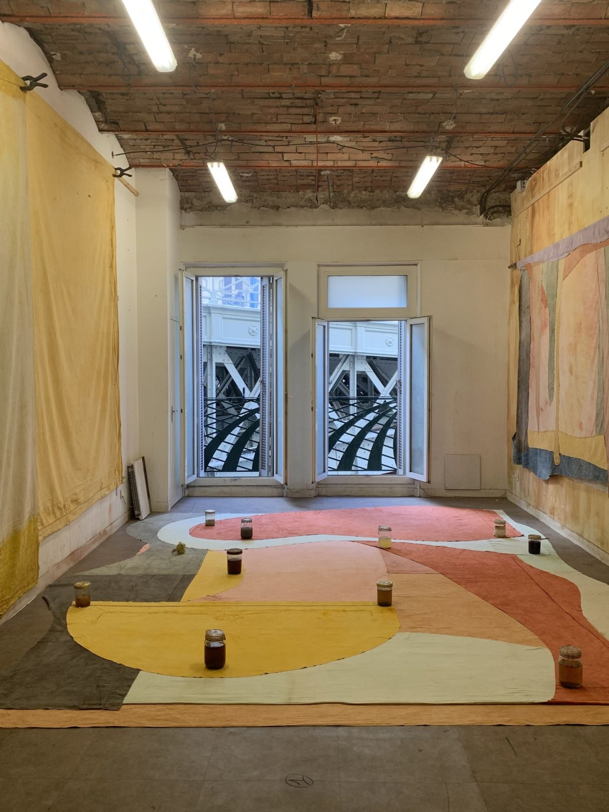 Adrien Vescovi - Vue atelier