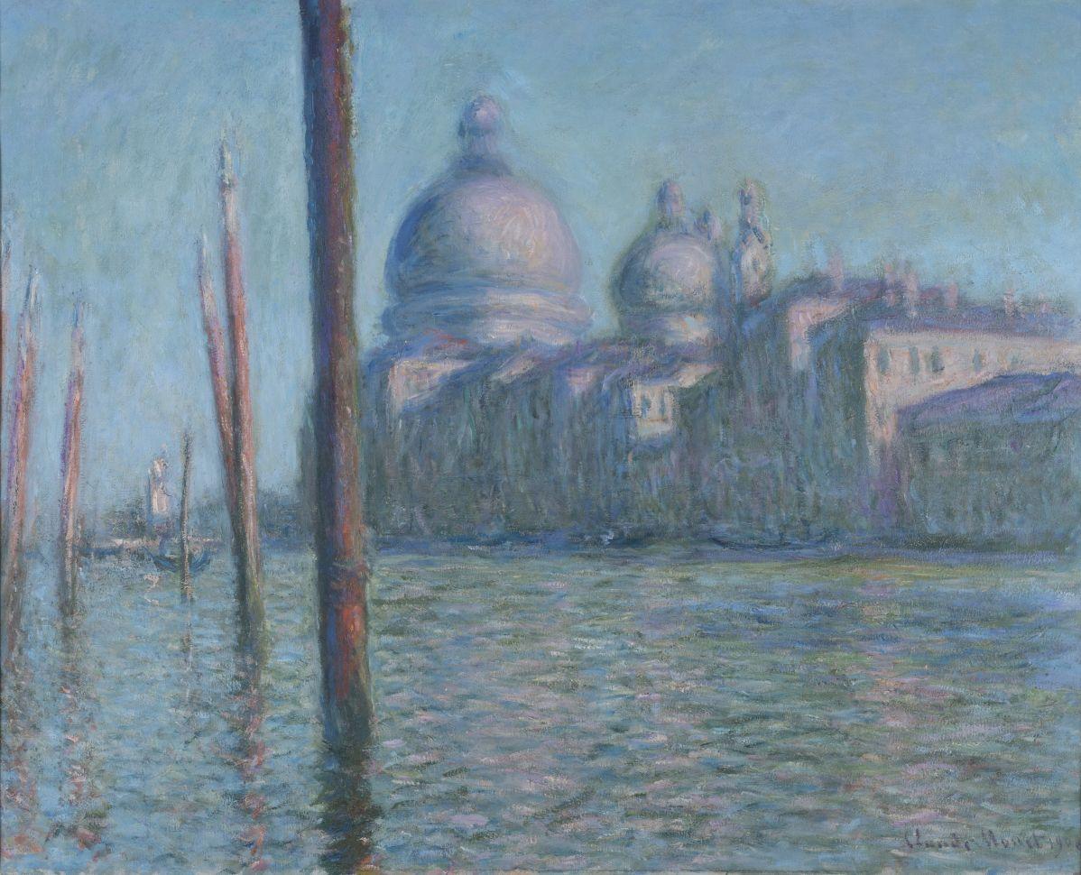 Claude Monet - Le Grand Canal, 1908