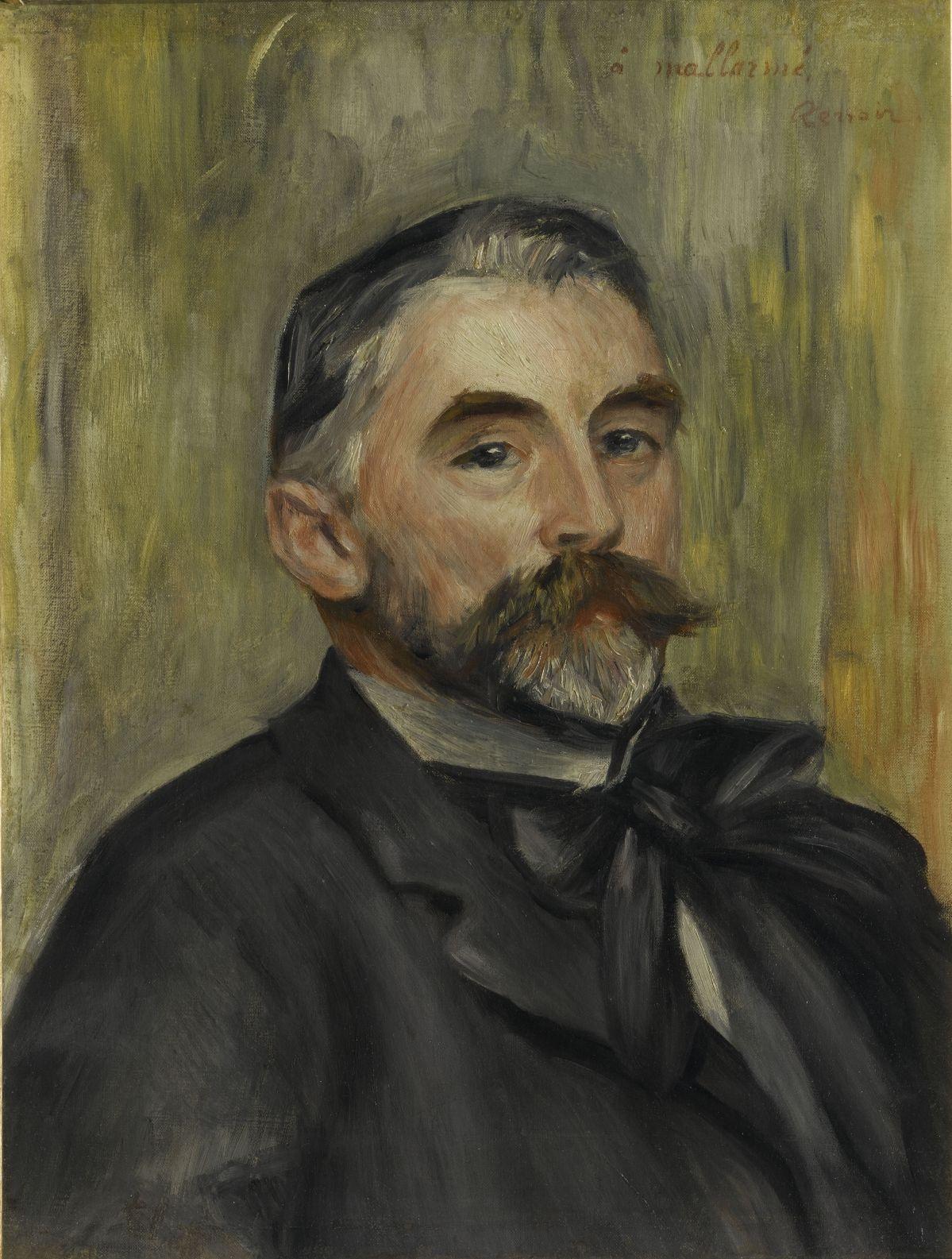 Auguste Renoir - Portrait de Stéphane Mallarmé, 1892