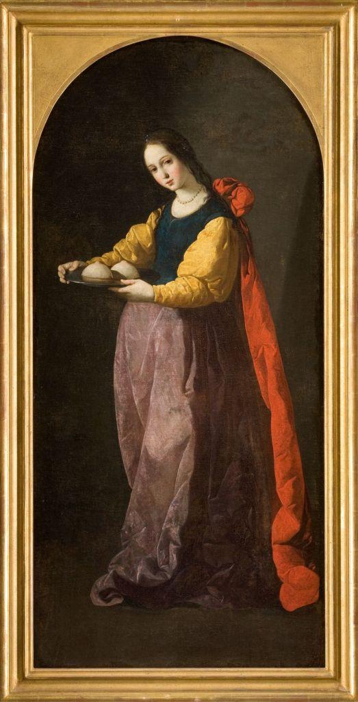 Francisco de Zurbarán - Sainte Agathe, c. 1630-1633