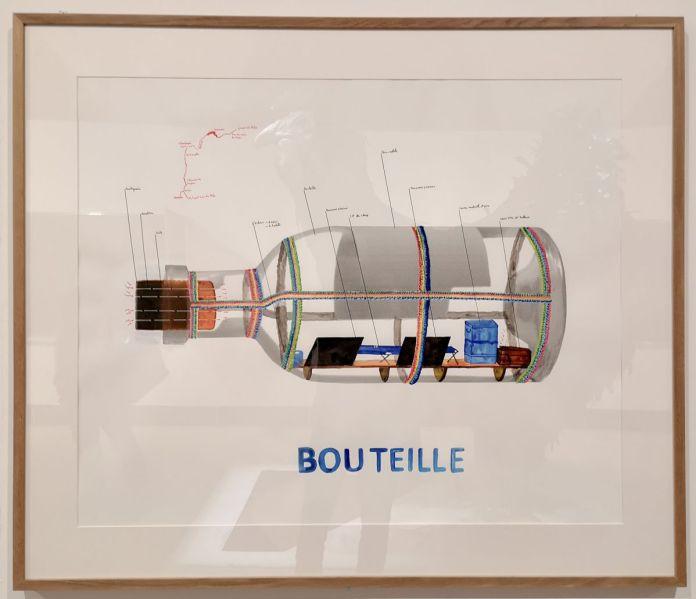 Abraham Poincheval - Bouteille, 2016 - «Ruche - Hive» à la Vieille Charité - Marseille