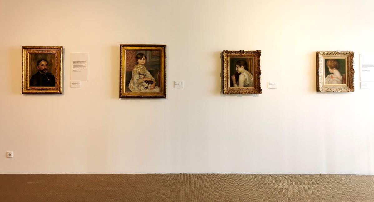 Auguste Renoir - Paul Valéry et les peintres - Le cercle amical proche - Musée Paul Valéry à Sète