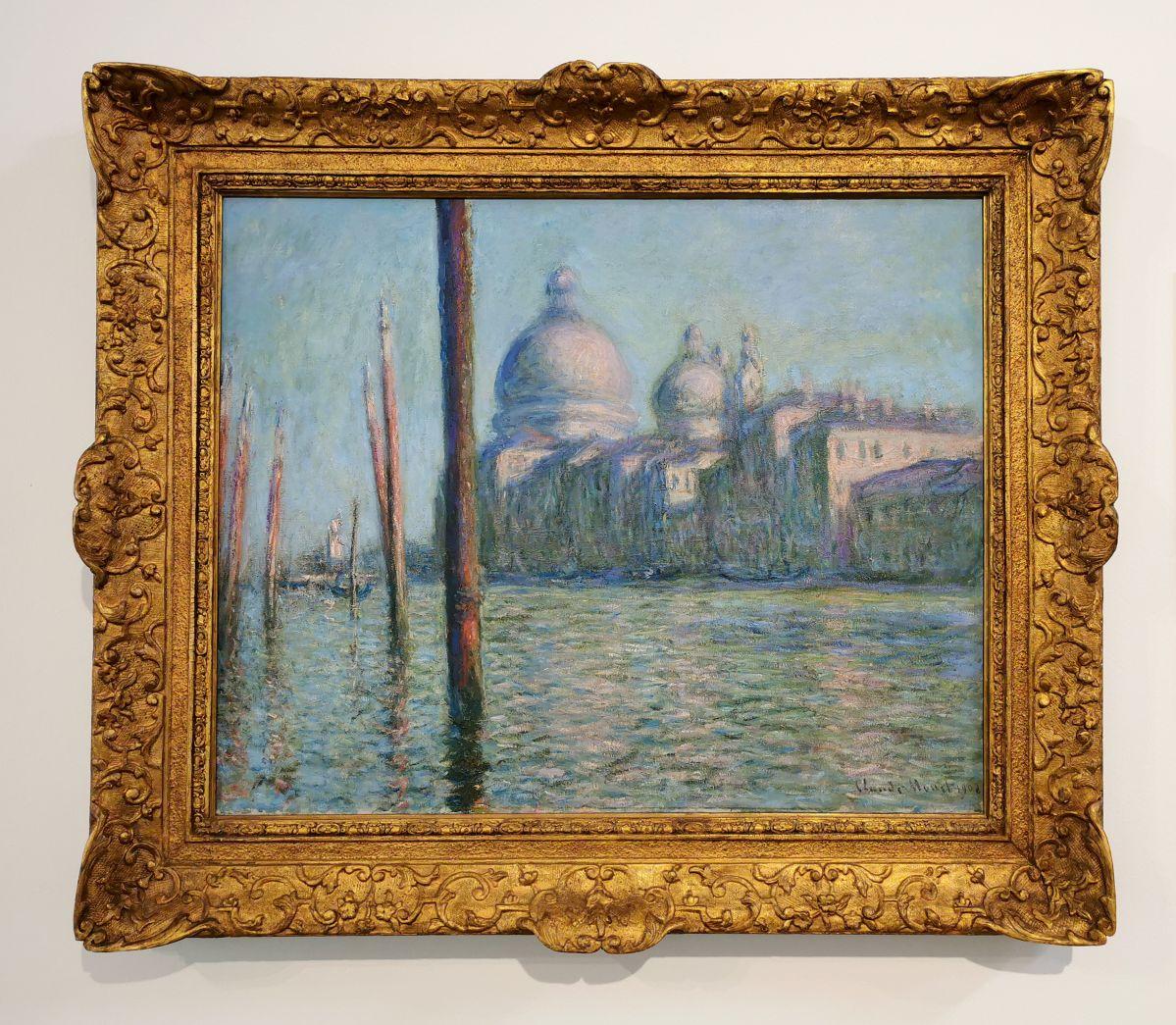 Claude Monet - Le Grand Canal, 1908 - Paul Valéry et les peintres - Le cercle amical proche - Musée Paul Valéry à Sète