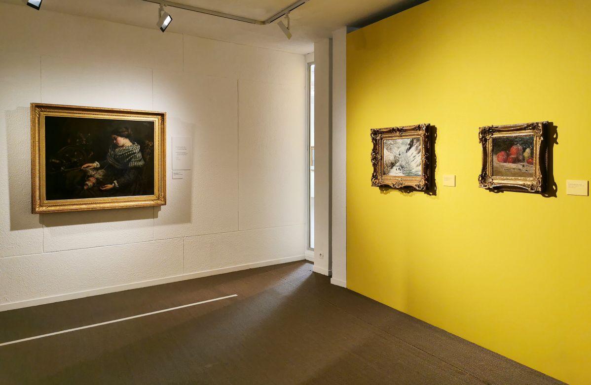 Courbet - Paul Valéry et les peintres - Autres regards de Valéry sur les peintres depuis sa jeunesse - Musée Paul Valéry à Sète