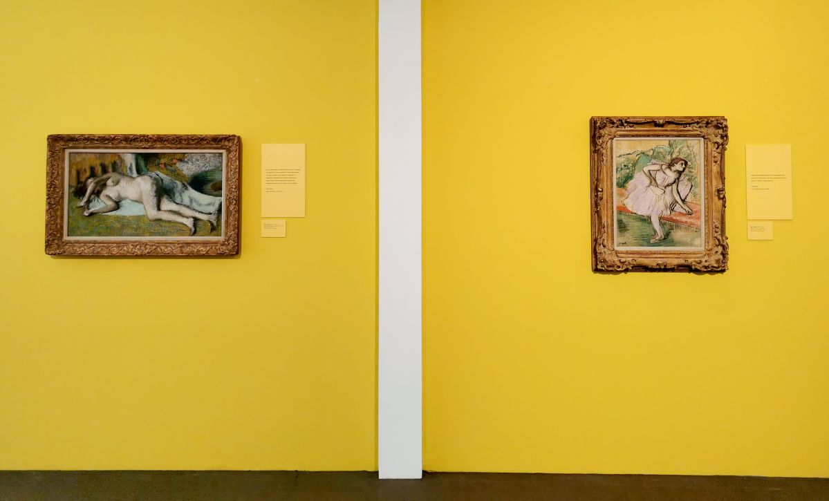 Edgar Degas - Paul Valéry et les peintres - Le cercle amical proche - Musée Paul Valéry à Sète