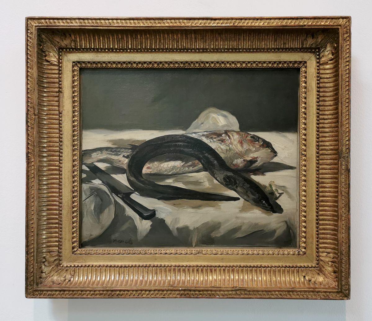 Edouard Manet - Anguille et rouget, 1864 - Paul Valéry et les peintres - Le cercle familial - Musée Paul Valéry à Sète