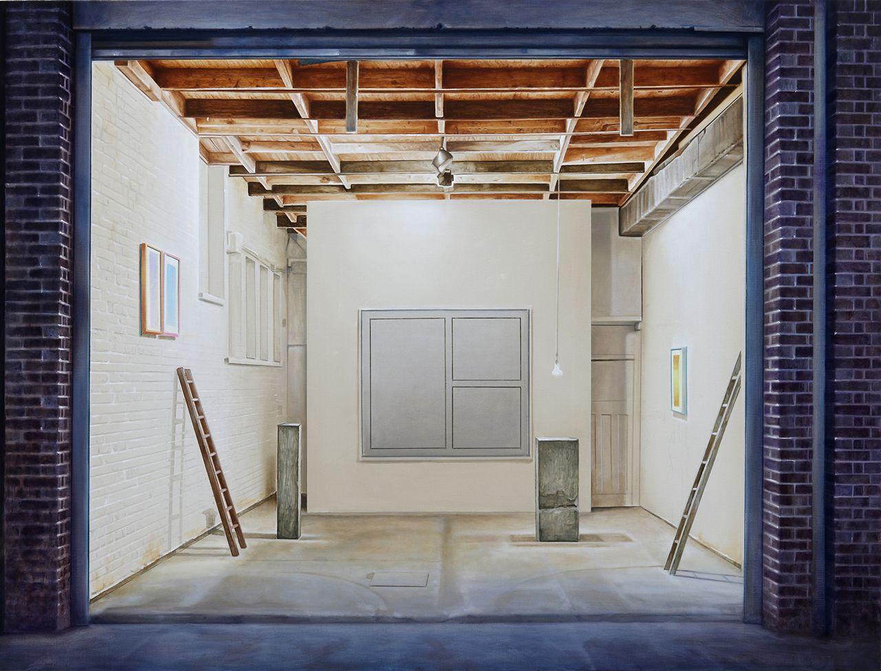 Guillame Valenti, sans titre, huile sur toile, 150×200, 2020