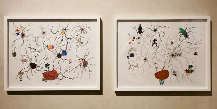 Jeanne Susplugas - In My Brain, 2018 - J'ai fait ta maison dans ma boite crânienne à l'Ardenome – Avignon