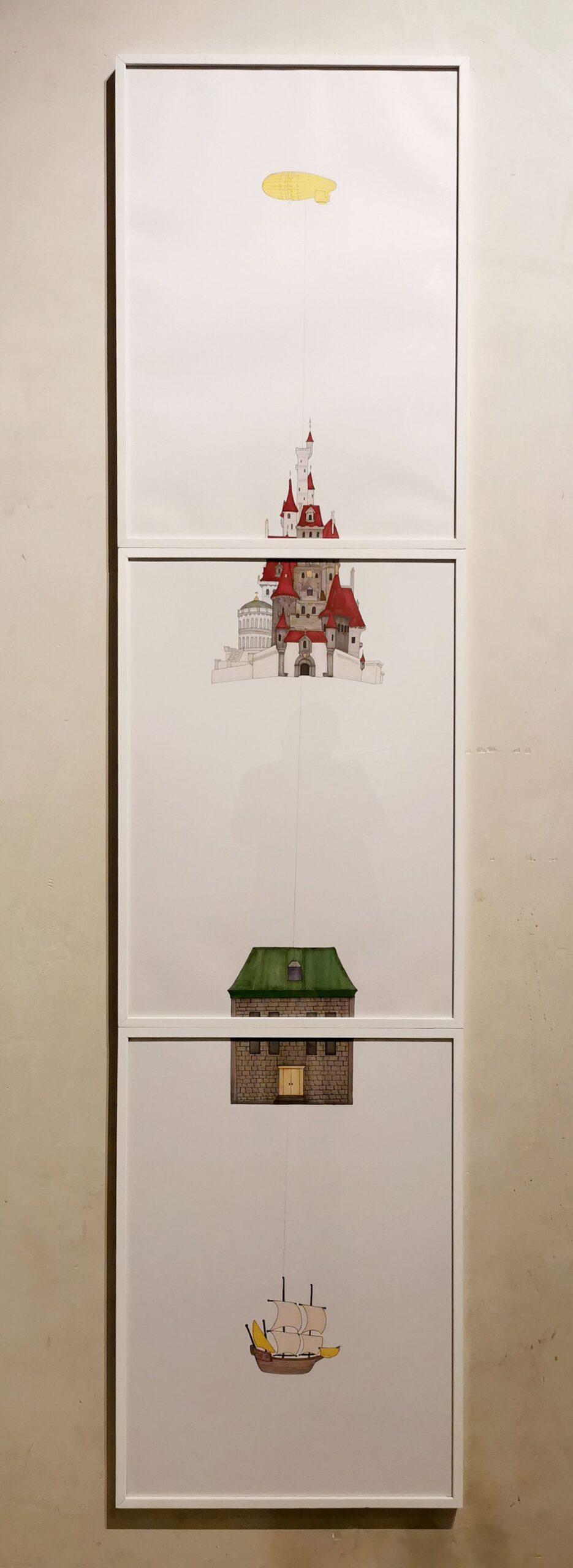 Jeanne Susplugas - There is no Place like Home, 2019 - J'ai fait ta maison dans ma boite crânienne à l'Ardenome – Avignon