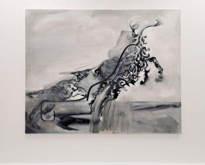 Albert Oehlen - Gezeichnete Hunde (Drawn Dogs), 2005 - 00s - Collection Cranford - les années 2000 au MOCO Montpellier
