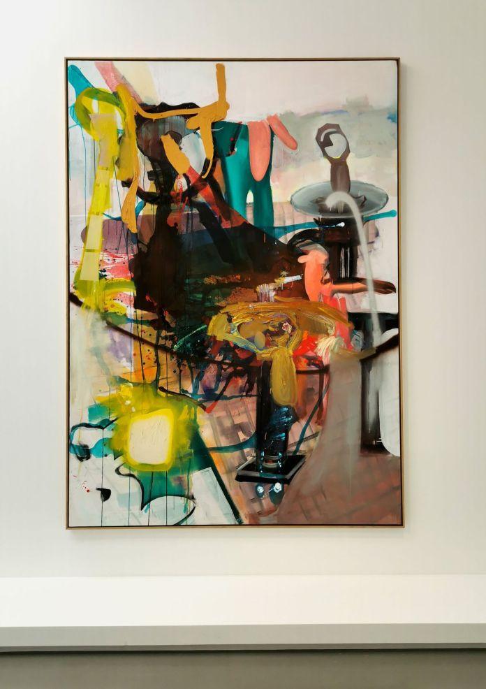 Albert Oehlen - Schmilzender..., 2002 - 00s - Collection Cranford - les années 2000 au MOCO Montpellier