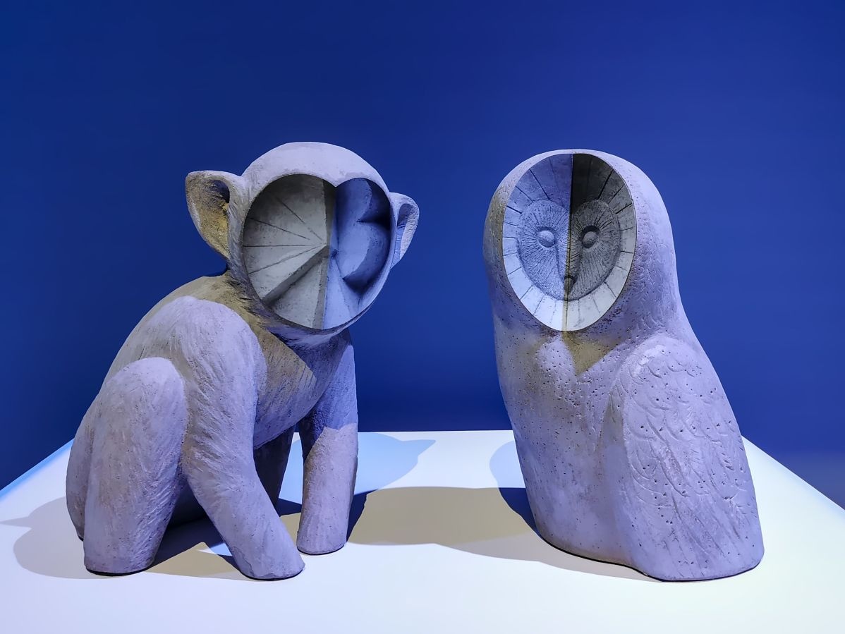 Anna Hulacova - Untitled , 2019-2020 (Monkey et Owl)