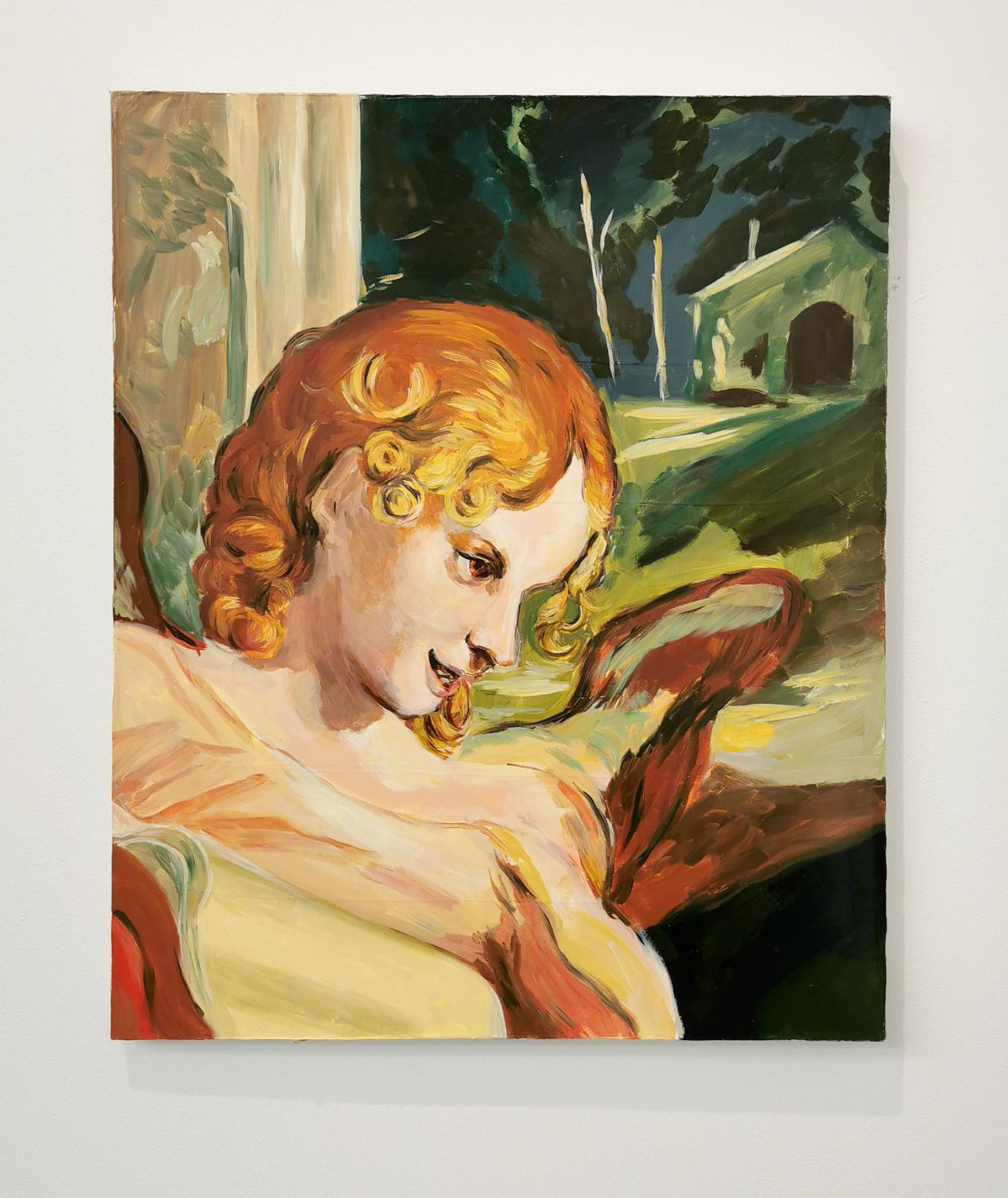 Karen Kilimnik - The Archangel Adrian, 2003 - 00s - Collection Cranford - les années 2000 au MOCO Montpellier