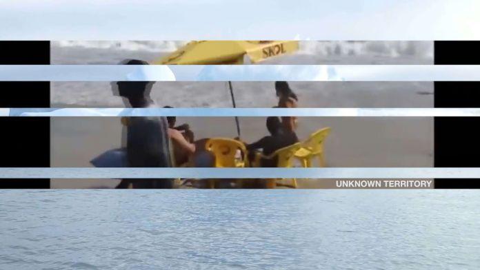 Liliana Colombo - Icemeltland Park, 2020 - Italie/GB Les Instants Vidéo 2020 - «Mort, la vie te guette !»
